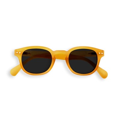 IZIPIZI SUN Junior #C Yellow, Soft Grey Lenses (3-10years)