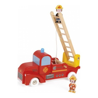 Janod Story Firefighters Truck