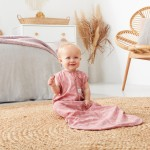 ergoPouch Jersey Sleeping Bag 1.0 Tog - Quill - 8-24m