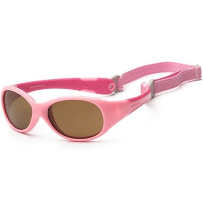KOOLSUN Flex Baby Sunglasses - Pink Sorbet (0-3 yrs)