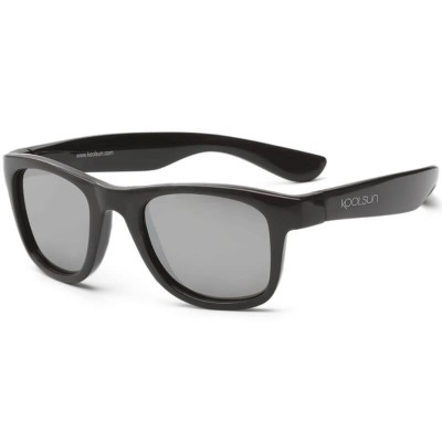 KOOLSUN Wave Kids Sunglasses - Black Onyx (3-6 yrs)