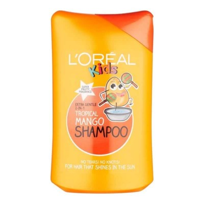 L'Oréal Kids Extra Gentle 2-in-1 Shampoo - Tropical Mango 250ml