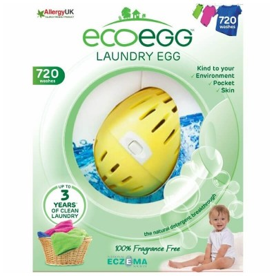 ecoegg Laundry Egg (720 Washes) - Fragrance Free