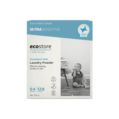 Ecostore Laundry Powder Fragrance Free Ultra Sensitive 2kg