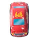 Moulin Roty Les Jouets Metal Red Friction Car 8.5x4.5x4cm