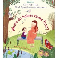 Usborne Lift-The-Flap First Questions & Answers: Where Do Babies Come from?
