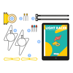 Tech Will Save Us Light Racer Kit (8 years+)