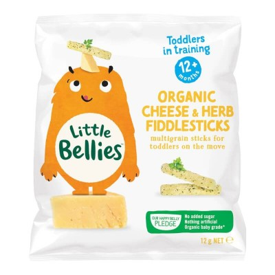 Little Bellies Organic Cheese & Herb Fiddlesticks 12g (12mos+)