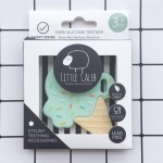 Little Caleb Teething Toy - Ice Cream - Mint, 1-Piece