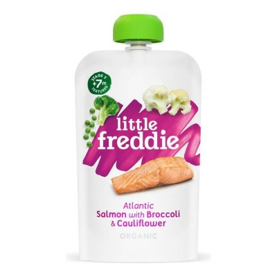 Little Freddie Organic Atlantic Salmon with Broccoli & Cauliflower 120g (7 mos+)