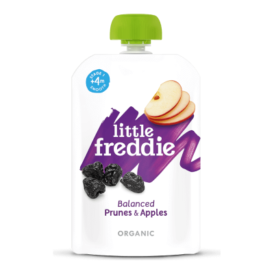 Little Freddie Organic Balanced Prunes & Apples 100g (4 mos+)