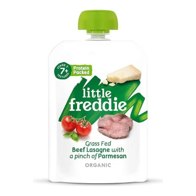 Little Freddie Organic Grass Fed Beef Lasagne with a Pinch of Parmesan 130g (7 mos+)