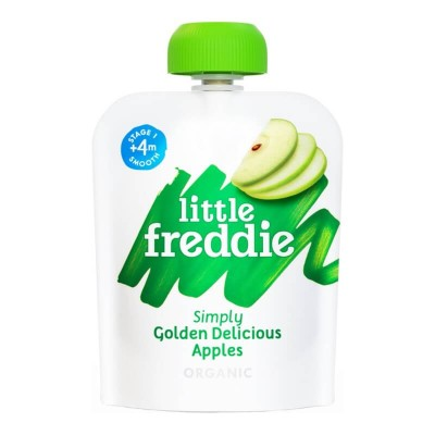 Little Freddie Organic Simply Golden Delicious Apples 70g (4 mos+)