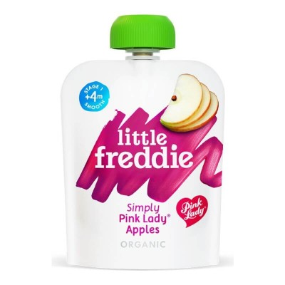Little Freddie Organic Simply Pink Lady Apple 70g (4 mos+)