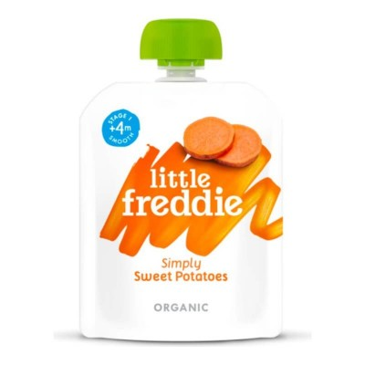Little Freddie Organic Simply Sweet Potatoes 70g (4 mos+)