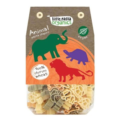 Little Pasta Organics Animal Pasta Shapes 250g (36 mos+)