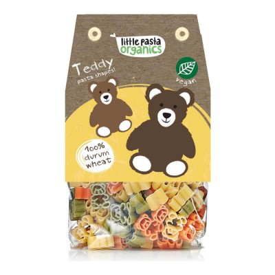 Little Pasta Organics Teddy Pasta Shapes 250g (36 mos+)