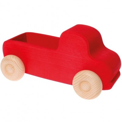 Little Wooden Dragon Red Truck