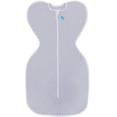 Love to Dream Swaddle UP LITE Grey 0.2 Tog