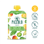 Piccolo Mango, Pear, Apple & Kale with a Dash of Yoghurt 100g (6mos+)
