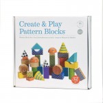 Manhattan Toys Create & Play Pattern Blocks