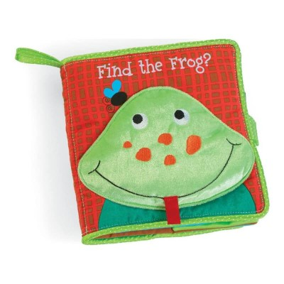 Manhattan Toys Find the Frog Soft Book