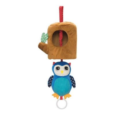 Manhattan Toys Lullaby Owl Musical Pull Toy