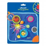 Manhattan Toys Whoozit Space Blankie