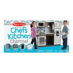 Melissa & Doug Chefs Kitchen - Charcoal