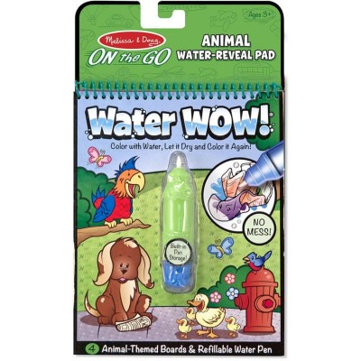 Melissa & Doug Water WOW! Water Reveal Pad - Animals