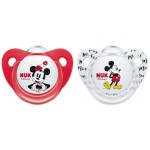 NUK Mickey/Minnie Mouse Silicone Soother