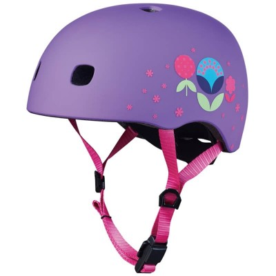 Micro Scooter Helmet - Floral Dot