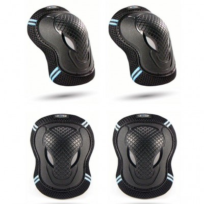 Micro Scooter Knee & Elbow Pads - Black