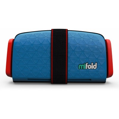 mifold Grab-and-Go Car Booster Seat - Denim Blue