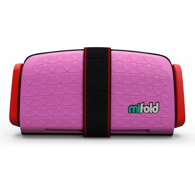 mifold Grab-and-Go Car Booster Seat - Perfect Pink