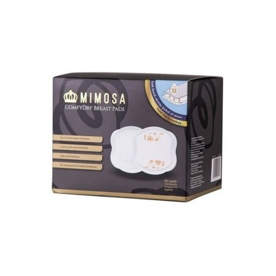 Mimosa Comfydry Breast Pads 60-Pack