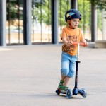 Micro Scooter Mini Deluxe - Navy LED
