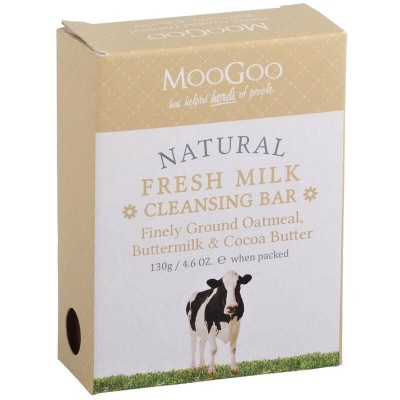 MooGoo MooGoo Cleansing Bar - Finely Ground Oatmeal 130g
