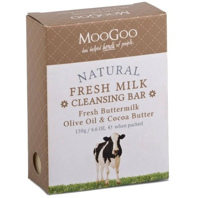 MooGoo MooGoo Cleansing Bar - Fresh Buttermilk 130g