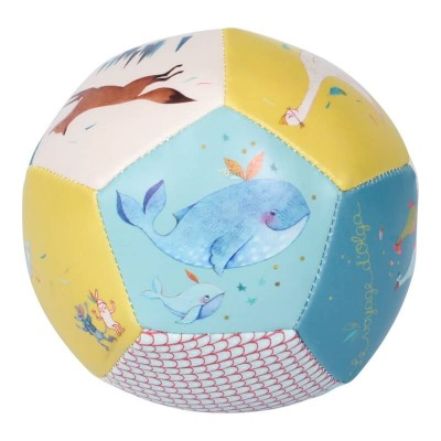 Moulin Roty Le Voyage d'Olga Safe PU Soft Baby Ball ø10cm