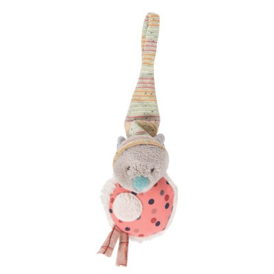 Moulin Roty Les Jolis Trop Beaux Mouse Soother Holder 20cm