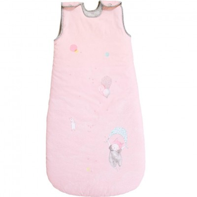 Moulin Roty Les Petits Dodos Pink Sleeping Bag 90cm