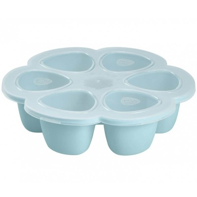 Beaba Multiportions 6x3oz Silicone Tray - Sky