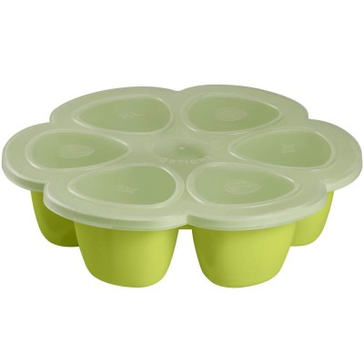 Beaba Multiportions 6x5oz Silicone Tray - Neon