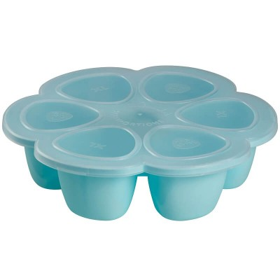 Beaba Multiportions 6x5oz Silicone Tray - Sky