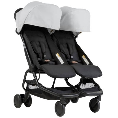 Mountain Buggy Nano Duo Buggy - Silver