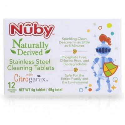 Nuby Stainless Steel Cleaning Tablets