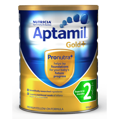Nutricia Aptamil Gold+ Follow-On Formula 2 (From 6-12 Months) - 900g