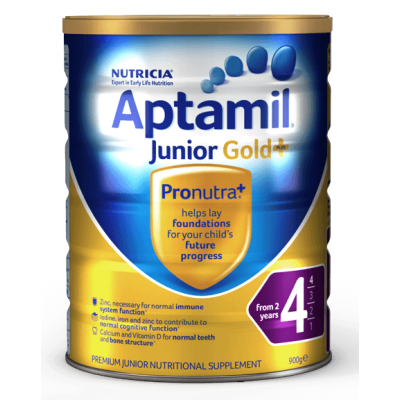 Aptamil Nutricia  Junior Gold+ 4 (From 2 Years) - 900g
