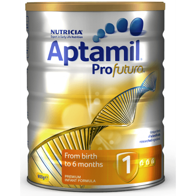 Aptamil Nutricia  Profutura Infant Formula 1 (From Birth to 6 Months) - 900g